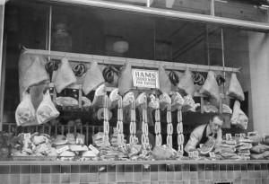 Butcher Parnell Street 1946