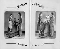 Clarks X-ray machine