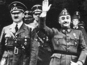 Hitler and Franco
